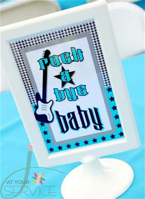 karas party ideas rock  bye baby shower karas party ideas