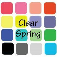 Pure Spring Color Palette Clear Spring