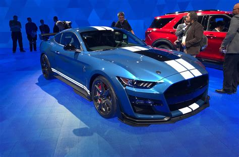 ford mustang shelby gt revealed autocar india