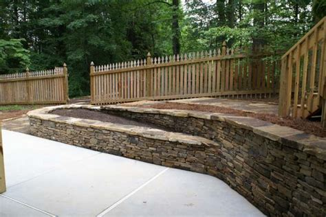 landscaping ideas retaining wall hillside hillside landscaping