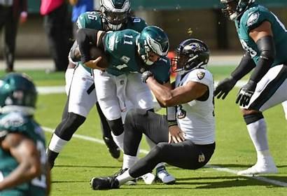 Wentz Carson Eagles Ravens Baltimore Calais Another