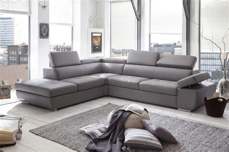 canapé angle gris clair canapé d 39 angle design en pu gris clair marocco canapé d