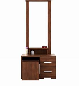 Buy Kosmo Arena Dressing Table in Rigato Walnut Finish by