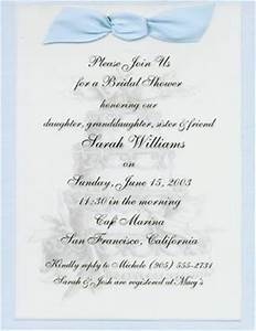 bridal shower invitation sample 1 from printing by beth in With samples of wedding shower invitations