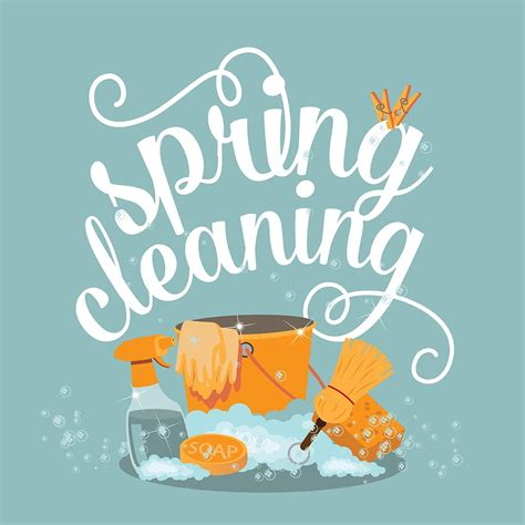 spring cleaning tips  clear  clutter good neighbor