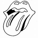 Tongue Drawing Mouth Rolling Stones Coloring Pages Lips Draw Drawings Stone Rock Line Template Logos Trademark Sketch Smiling Getdrawings Ipaustralia sketch template