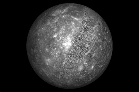 Planet Mercury (picture Poster Art Space