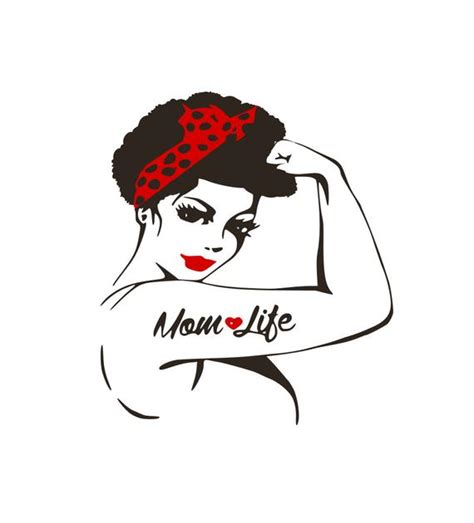 Every week we add new premium graphics by the thousands. Afrocentric Mom Life Natural Hair Afro Black Girl Magic