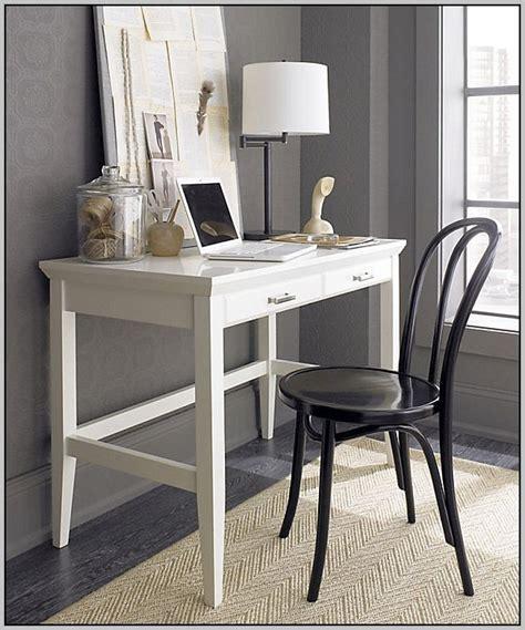 narrow desks  small spaces uk desk home design