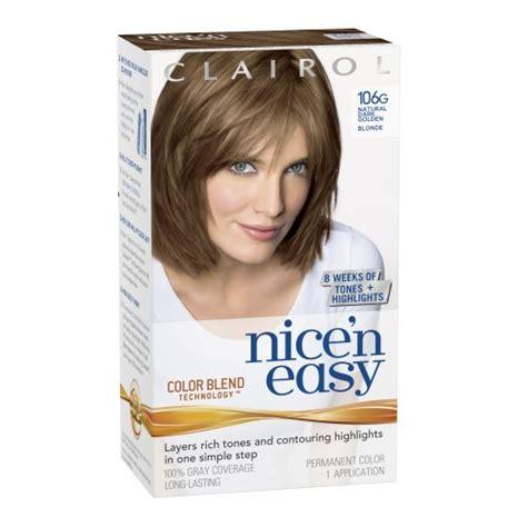 clairol hair colors clairol n easy hair color 108 reddish