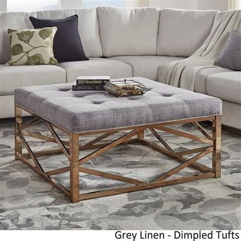 Handmade vintage oak whiskey barrel coffee table. 10 Crate And Barrel Ottoman Coffee Table Pictures