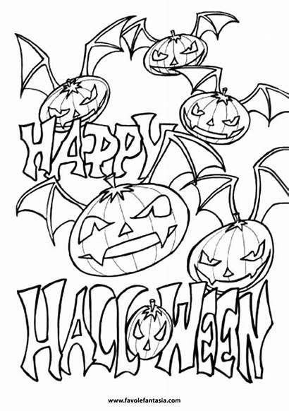 Halloween Colorare