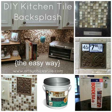 easy diy kitchen backsplash kitchen tile backsplash do it yourself