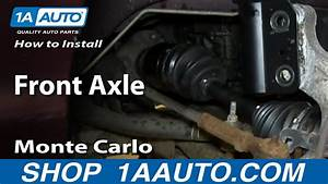 How To Install Replace Front Axle 2000