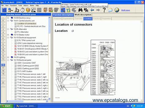 scania multi 2015 parts and repair documentation