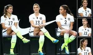 USA women's soccer team launch new black and white kits ...