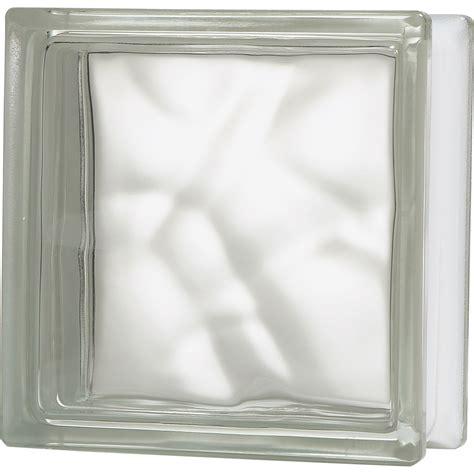 brique de verre transparent ondul 233 brillant leroy merlin