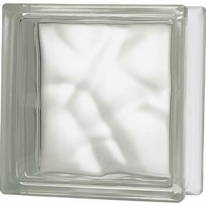 Panneau Brique De Verre : brique de verre transparent ondul brillant leroy merlin ~ Dailycaller-alerts.com Idées de Décoration
