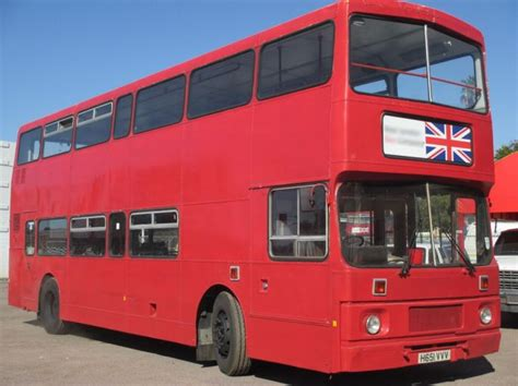 leyland olympian double decker bus buses  sale