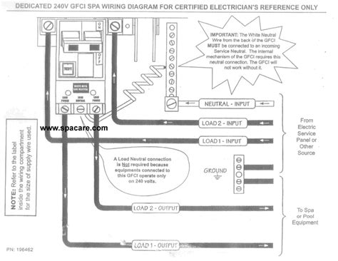 Gfi Breaker Diagram by How To Wire A Gfci Breaker