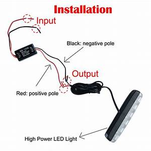 2019 Flash Strobe Controller Flasher Module For Led Stoplight Brake Tail Stop Light 12 16v Gs