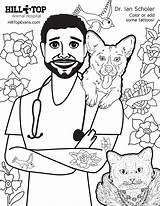 Coloring Hill Dr Hospital Animal Sheet Scholer Pdf Please sketch template