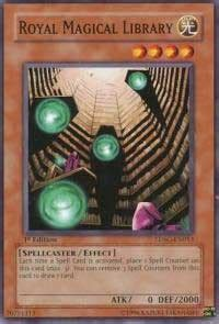 royal magical library structure deck spellcaster s