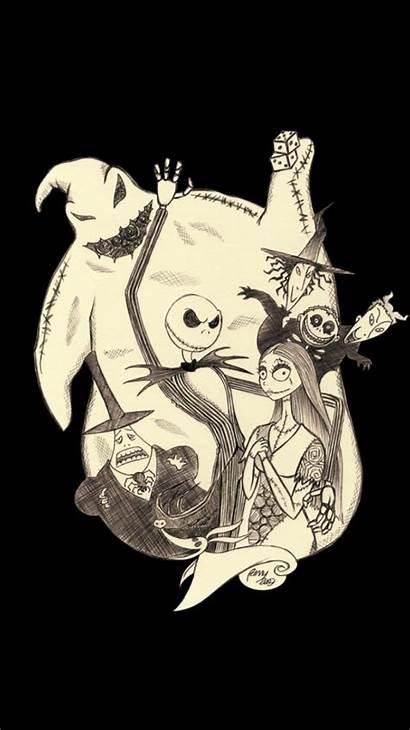 Burton Tim Nightmare Before Tattoo Coraline Sally