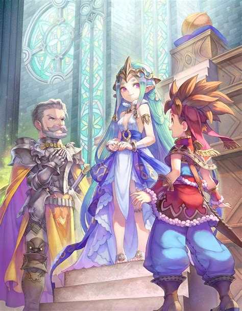 Check out HACCAN's stunning illustrations for Secret of Mana - Nova Crystallis