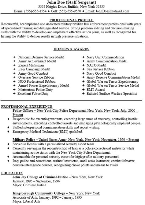 Army Sergeant Resume by Sergeant Resume Free Excel Templates