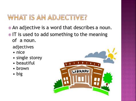 Adjective And Its Kinds  Ppt Video Online Download