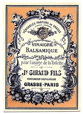vintage clip art lovely french label  graphics fairy