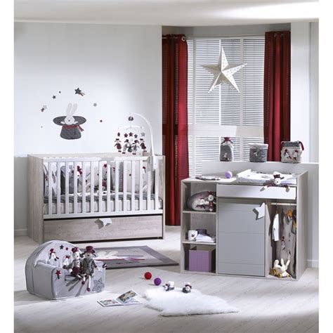 ma chambre de bébé chambre bébé duo lit commode de sauthon meubles sur