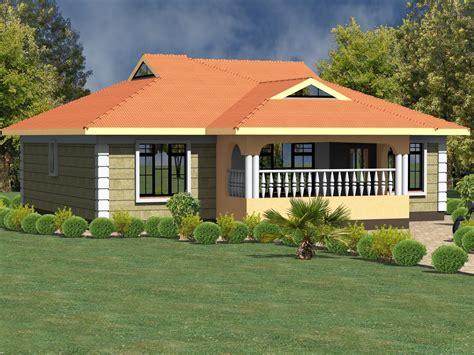 house plans kenya bedrooms bungalows hpd