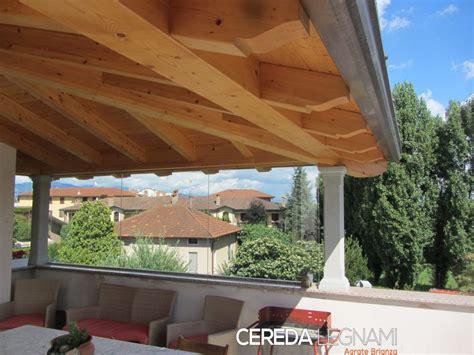 tettoie in legno tettoie addossate in legno cereda legnami agrate brianza