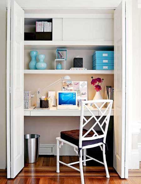 placard bureau une pièce dans votre placard créatrice d