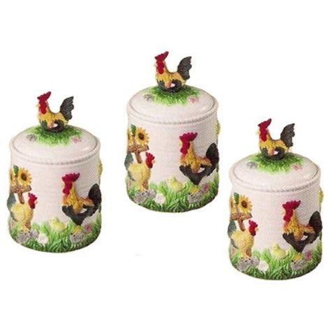 rooster canisters kitchen products 353 best home kitchen storage organization images on