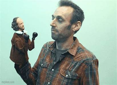 Puppet Shakespeare Punching Gifs Gifts Elephant Mcphee