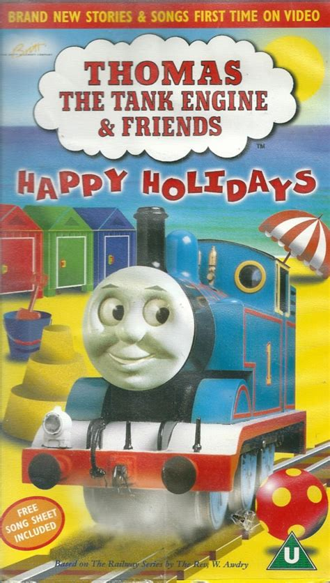 opening to the tank engine and friends happy holidays 1999 uk vhs columbia tristar