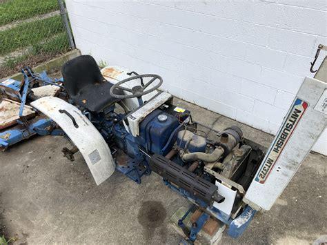 mitsubishi mt diesel mini tractor wade murray
