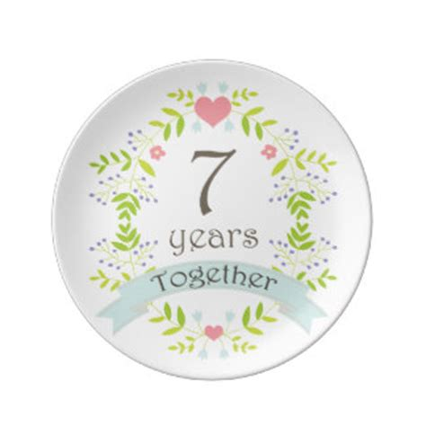 7th wedding anniversary 7th wedding anniversary gifts t shirts art posters other gift ideas zazzle
