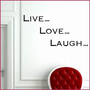 live laugh love wall sticker decals With live laugh love wall decal