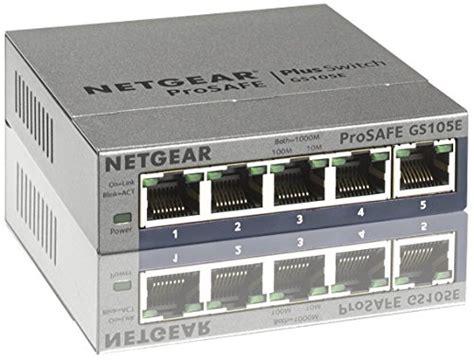 Blue Player Wandmontage by Netgear Gs105e 200pes 5 Port Web Managed Plus Gigabit