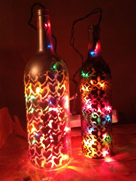 wine bottle craft wine bottles pre cut  scrap