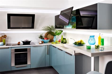 meubles cuisine darty meuble darty cuisine bleu gris meubles inspiration de
