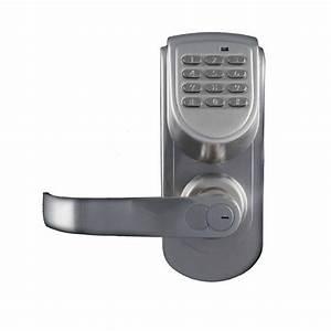 lockstate ls 6600 l s 200 code keyless digital door lock With cipher door lock