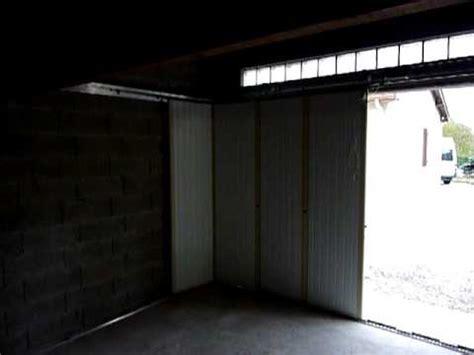 porte de garage laterale porte de garage coulissante lat 233 rale