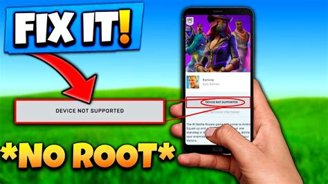 fortnite device  supported fix  root youtube