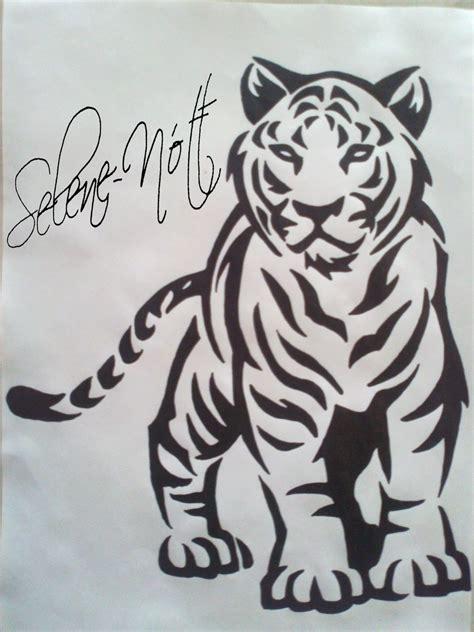 Tigre Tribal Tattoo By Sapphireks On Deviantart