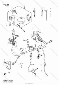 Suzuki Motorcycle 2009 Oem Parts Diagram For Wiring